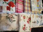 Vintage Tablecloths Lot of 7~ Pre-owned
