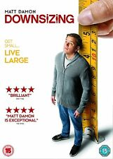Downsizing Matt Damon DVD UK Region 2 Stock 2018