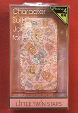 LITTLE•TWIN•STARS Soft Clear Jacket for iPHONE 4, New In Box