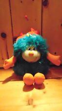 """Vintage Rainbow Brite Spritzie Sprite Plush 12"""" Teal Girl Mattel Hallmark 1983"""