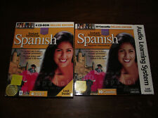 Instant Immersion Spanish 4CD Set and 10 Cassettes Set