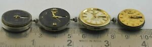 Lot of 4 pcs Seiko Watch Non Working watch Movement For Parts & Repair M-9487