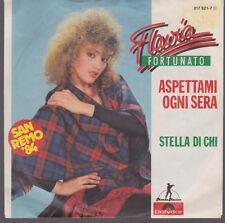 """7"""" Flavia Fortunato Aspettami Ogne Sera / Stella Di Chi 80`s (San Remo) Polydor"""