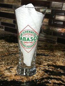 Tabasco Beer Glass Drinking Glass, Bar Glass, Beer, Pilsner Glass