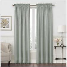 Royal Velvet Hilton Rod-Pocket Curtain Panel 54 in x 95 in - Abyss Green