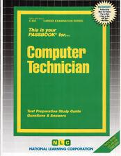 NEW Computer Technician Exam Practice Passbook Upcoming Civil Service Test