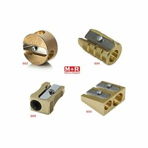 Mobius & Ruppert Pencil Sharpeners in Brass - Set of 4 Styles Made in Germany