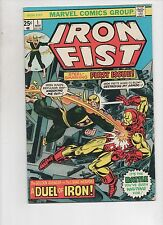 Marvel Comics   Iron Fist #1  Solid VG Condition  1975 Bronze Age beauty