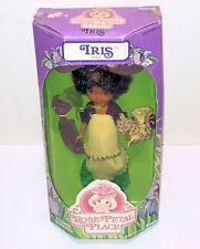 "6"" Vintage 1984 IRIS DOLL Kenner Rose Petal Place African American #83040 NIB"