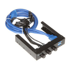 Akasa 3,5 Zoll FC06 V2 Lüftersteuerung inkl. 2x USB 3.0 Ports