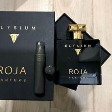 Roja Parfums Elysium Cologne 4ml 0.14oz Sample Decant