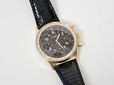 1963 Vintage Breitling 806 Navitimer Mint! Mark Theresa Heist Restored Gold Fill