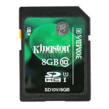8GB Kingston SDHC Class 10 SD Card 45M/s for Cellphone Camera HD Video G2Q8
