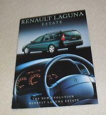 Renault Laguna Estate Brochure 1998 - RN RT Sport RXE Family 1.6 1.8 1.9 2.2 DT