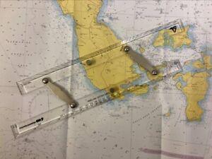 Marine Ruler /  Parallel Ruler / Nautical Chart/ Yacht navigation 400mm