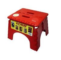 Red EZ-Foldz Step Stool for RV / Camper / Trailer / Motorhome / 5th Wheel