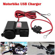 uk12v MOTO Cargador USB adaptador de Corriente Enchufe Teléfono GPS IMPERMEABLE