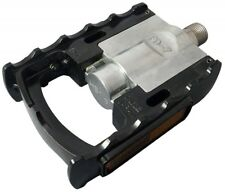 "New MKS FD-7 Folding Pedals - 9/16"" Right and left Black From Japan with track"