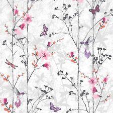 Nouveau muriva fonctionnalité floral papillon oiseau feuillage Fond d'écran eden rose - 102550