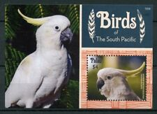 Palau 2015 MNH Birds of South Pacific Sulphur Crested Cockatoo 1v S/S Stamps