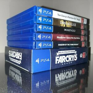 PS4 GAME LOT/BUNDLE - PICK AND CHOOSE THE GAMES YOU WANT - CHEAP AND AFFORDABLE