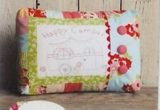PATTERN - Happy Camper - fun stitchery pillow PATTERN - This & That