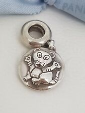 """Authentic Pandora Sterling Silver Charm Chinese Zodiac """"Tiger"""" - 790887"""