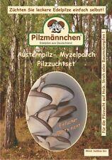 Myzelpatch BIO Austernpilz - einfach Pilze züchten auf Stroh o. Holz,Zuchtkultur
