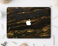 Black Golden Macbook 12 Pro 15 2018 Retina 13 Hard Cases Set Top Bottom Cases