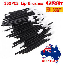 150PCS Disposable Lipbrush Lip Gloss Wands Lipstick Applicator Cosmetics Tool OZ