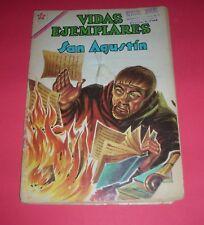 VIDAS EJEMPLARES SAN AGUSTÍN Nº 130  EDICIONES RECREATIVAS S. A. 1962  36 Págs.