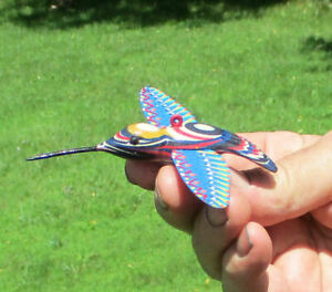 Ice Fishing Decoy Hummingbird  Hand-carved  Colorply   by Phillip Cates
