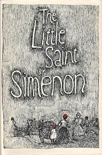 """SIMENON """"The Little Saint"""" FIRST PRINTING Hardcover and DJ in FINE Condition"""