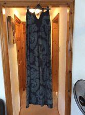 Roxy Halterneck  Maxi Dress Size Large