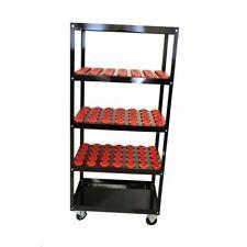 CNC Tool cart , CAT 50 - BT 50 , 72  Holders Capacity, Shelf  Model Cart