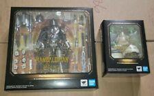 Bandai S.H.Figuarts Star Wars Mandalorian Beskar Armor & The Child Grogu New