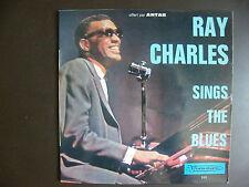 "EP RAY CHARLES  Sings the Blues  ""Walkin' and talkin'""+3  Visadisc  VI 245"
