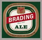 Brading Ale Beer Label - Carling O'Keefe
