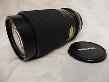 Optics grande Olympus OM Miranda 70-210 mm f4.5-5.6 MACRO Teleobiettivo zoom lens
