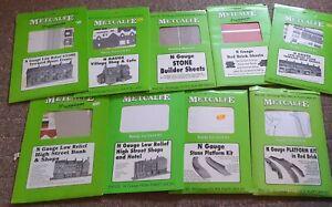 Metcalfe N gauge  card kit's opened