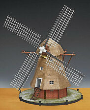 "Beautiful, intricate Amati wooden model kit: the ""Dutch Windmill"""