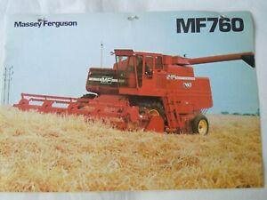 @Massey Ferguson 760 Combine Brochure@