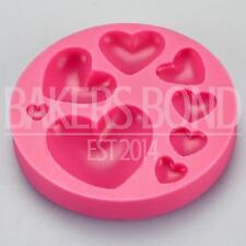 Multi 8 forma a cuore stampo in silicone ROMANTIC WEDDING cioccolato torta torte glassa