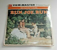 * MINT / SEALED * RUN, JOE, RUN GAF VIEWMASTER REELS 1974 SET B594 RARE    E620