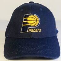 Lightly Used Adidas Indiana Pacers Basketball Hat Cap Size Adjustable NBA