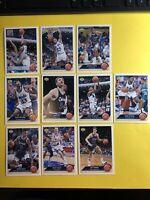 1992-93 Upper Deck McDonalds Orlando Magic 10-card Team Set  Shaquille O'Neal RC