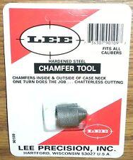 LEE Inside / Outside Case Chamfer / Deburring Tool - Case Prep - Trim FREE SHIP
