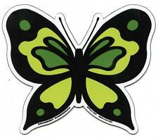 GREEN BUTTERFLY Car Ribbon Magnet Decrotive Spring
