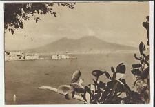 vecchia cartolina bianco e nero di napoli ente provinciale per il turismo 1940