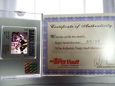 Mario Lemieux 1/1 1994-95 TOPPS Trading Card CO. Vault Factory COA SLIDE Negs